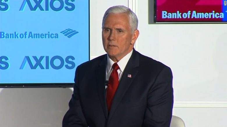 Pence on Porter: WH could've handled better