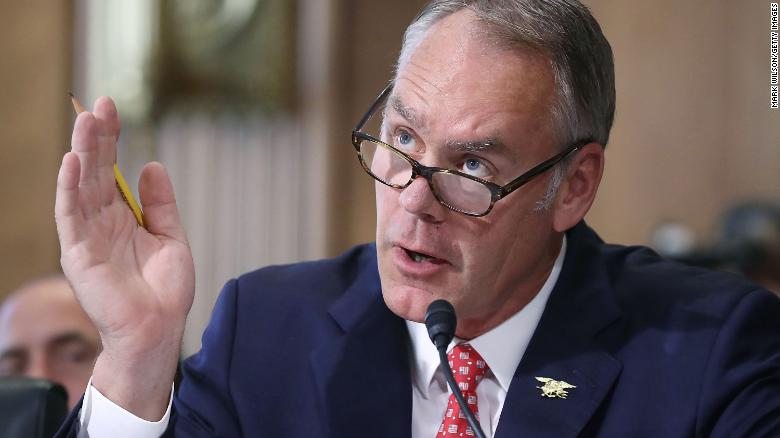 Interior Secretary Ryan Zinke Testifies During A Senate Energy And Natural  Resources Committee Hearing On Capitol