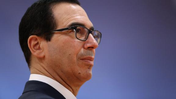 HAMBURG, GERMANY - JULY 08:  U.S. Treasury Secretary Steven Mnuchin attends the morning working session on the second day of the G20 economic summit on July 8, 2017 in Hamburg, Germany. G20 leaders have reportedly agreed on trade policy for their summit statement but disagree over climate change policy.  (Photo by Sean Gallup/Getty Images)