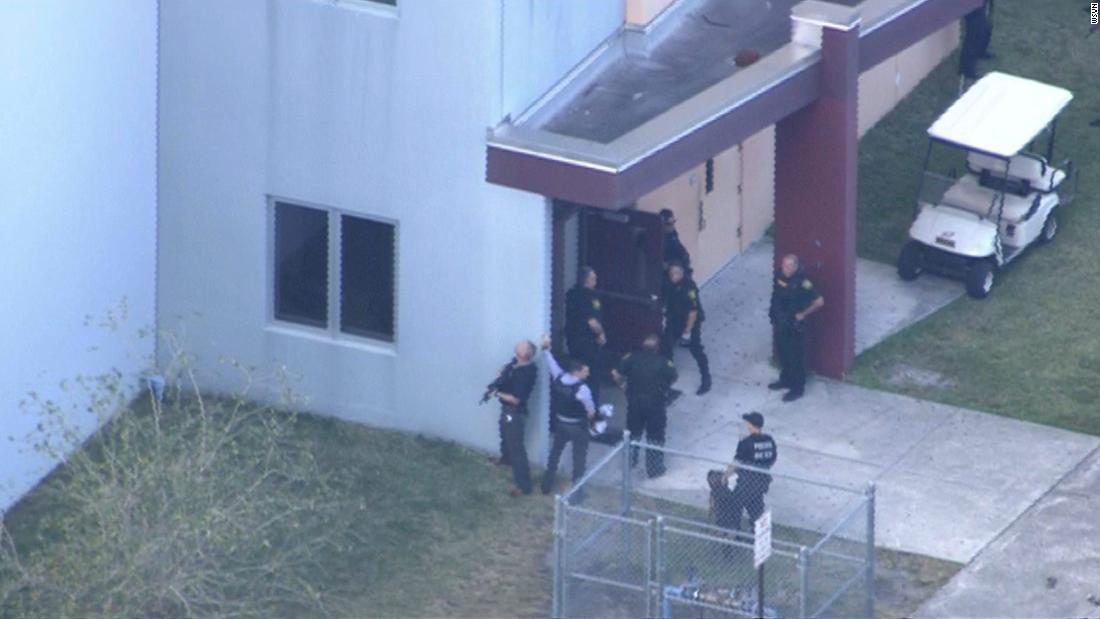 At least 2 dead in Florida school shooting, officials say