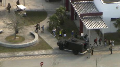 At least 17 dead in Florida school shooting, law enforcement says