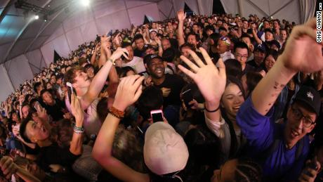 New York rapper A$AP Ferg performs at Split Works' Concrete & Grass Music Festival in Shanghai in September of 2016.