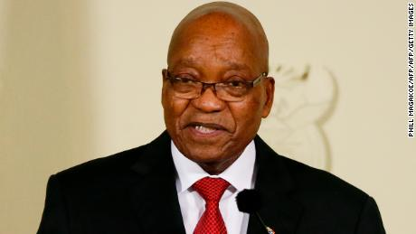 Jacob Zuma resigned as president in February.