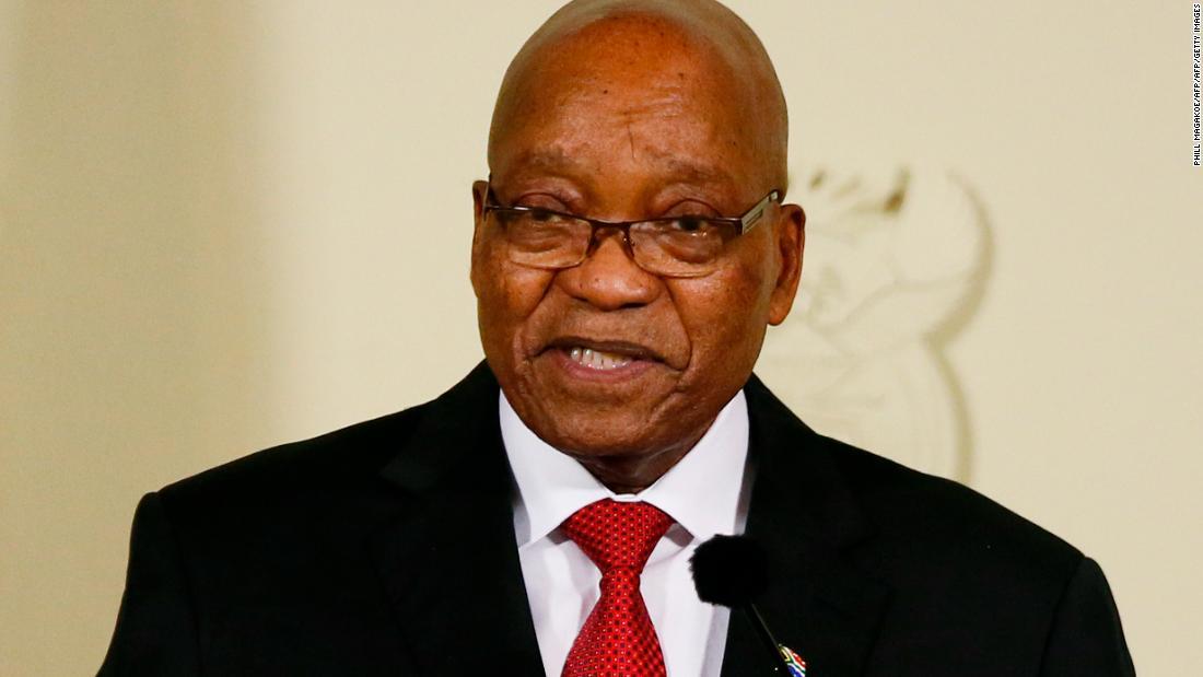 Haftbefehl für ehemalige Südafrika-Präsident Jacob Zuma