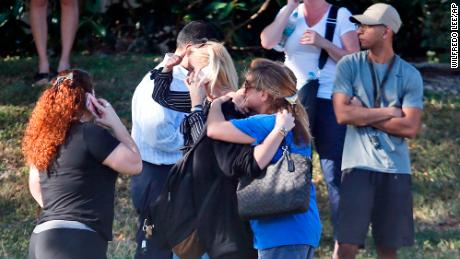 Image result for Gunman unleashes horror at his former high school in a massacre that left 17 dead