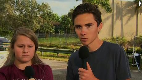 Student journalist interviewed classmates as shooter walked Parkland school halls