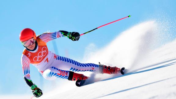 Mikaela Shiffrin was set to be the standout star of the Games after she took her first gold, and the second of her career, in the giant slalom.