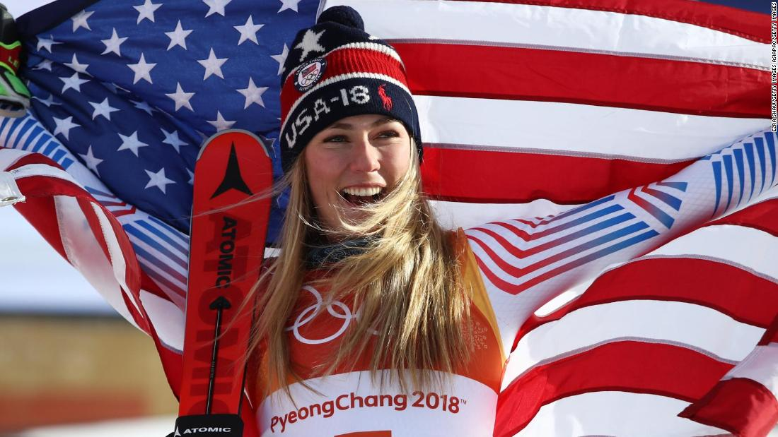 "America's sweetheart Mikaela Shiffrin was set to be the standout star of the Games. <a href=""http://www.cnn.com/2018/02/24/sport/mikaela-shiffrin-cnn-five-golds-winter-olympics-intl/index.html"">She took home two medals -- a gold in the giant slalom and a silver in the alpine combined, after narrowly missing out in the women's slalom. </a>"