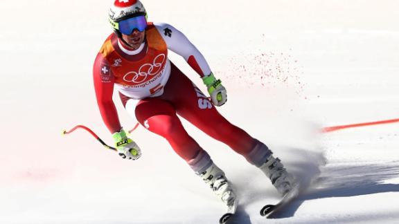 Swiss world champion Beat Feuz finished 0.18 seconds behind Svindal, taking bronze.