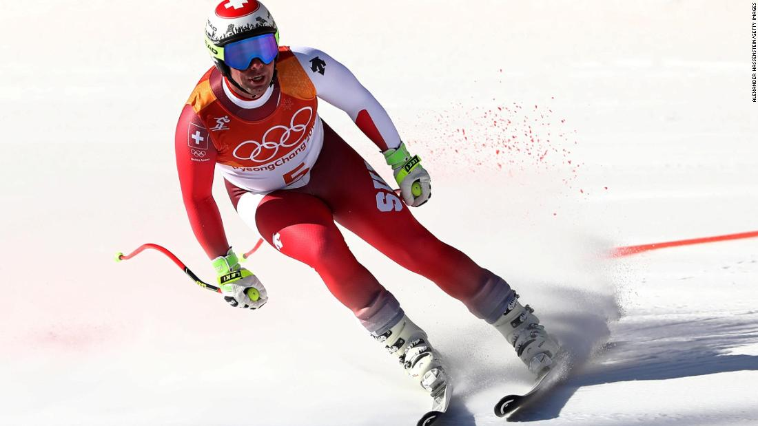 Swiss world champion Beat Feuz finished 0.18 seconds behind Svindal, taking bronze.