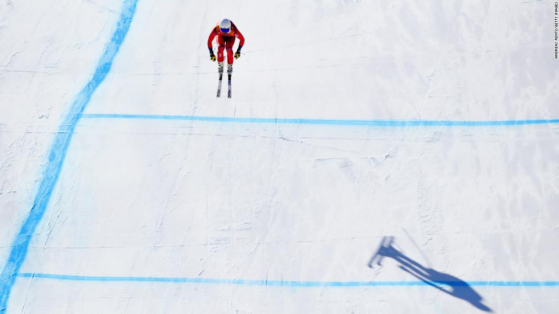 Svindal's gold was Norway's first ever Olympic downhill gold. His teammate Kjetil Jansrud took silver, finishing just 0.12 seconds adrift.