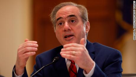 Veterans Affairs Secretary David Shulkin testifies before the House Veterans' Affairs Committee on Capitol Hill on February 15, 2018 in Washington, DC. (Aaron P. Bernstein/Getty Images)