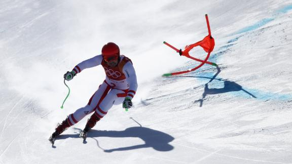 Austrian superstar Marcel Hirscher won his first Olympic gold in the alpine combined on day four. The 28-year-old has competed in three Winter Games but his previous best was a silver in Sochi.