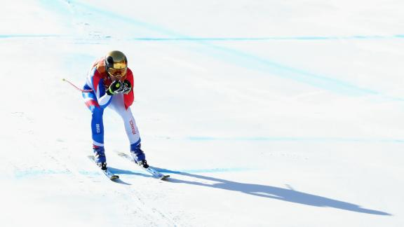 Another Frenchman Victor Muffat-Jeandet won bronze -- a pleasant surprise after recording the 29th fastest time in the opening downhill leg.