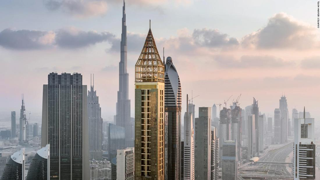 Dubai opens world's tallest hotel