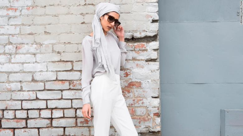 Verona Collection sells a variety of maxi dresses, tops, cardigans, pants and hand-dyed hijabs.