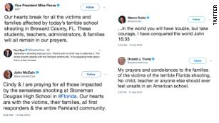 How 'thoughts and prayers' went from common condolence to cynical