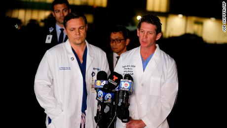 Doctor who treated Florida shooting victims: 'When is it going to stop?'