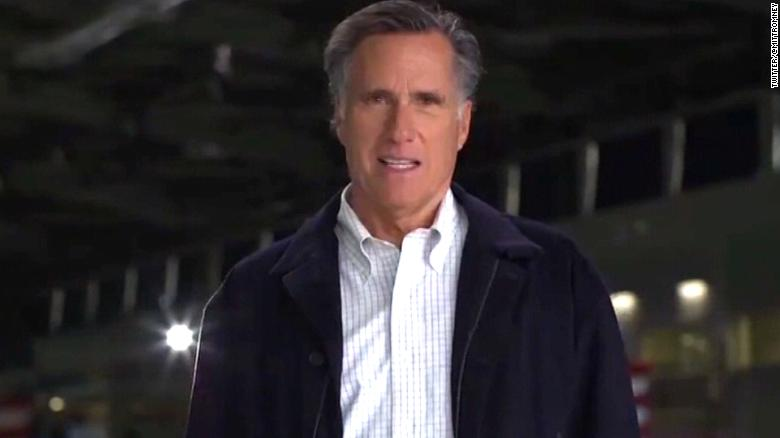 Mitt Romney releases ad for Utah Senate run