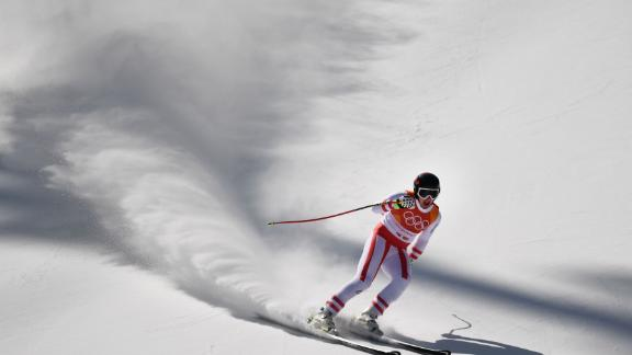 In the men's super-G, Austria's Matthias Mayer grabbed gold, breaking Norway's 16-year grip on the title. Mayer won downhill gold in Sochi. His father Helmut clinched silver in the inaugural Olympic super-G in Calgary in 1988.