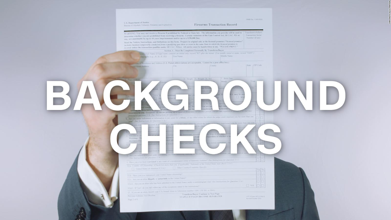 why gun background checks don t work opinion cnn
