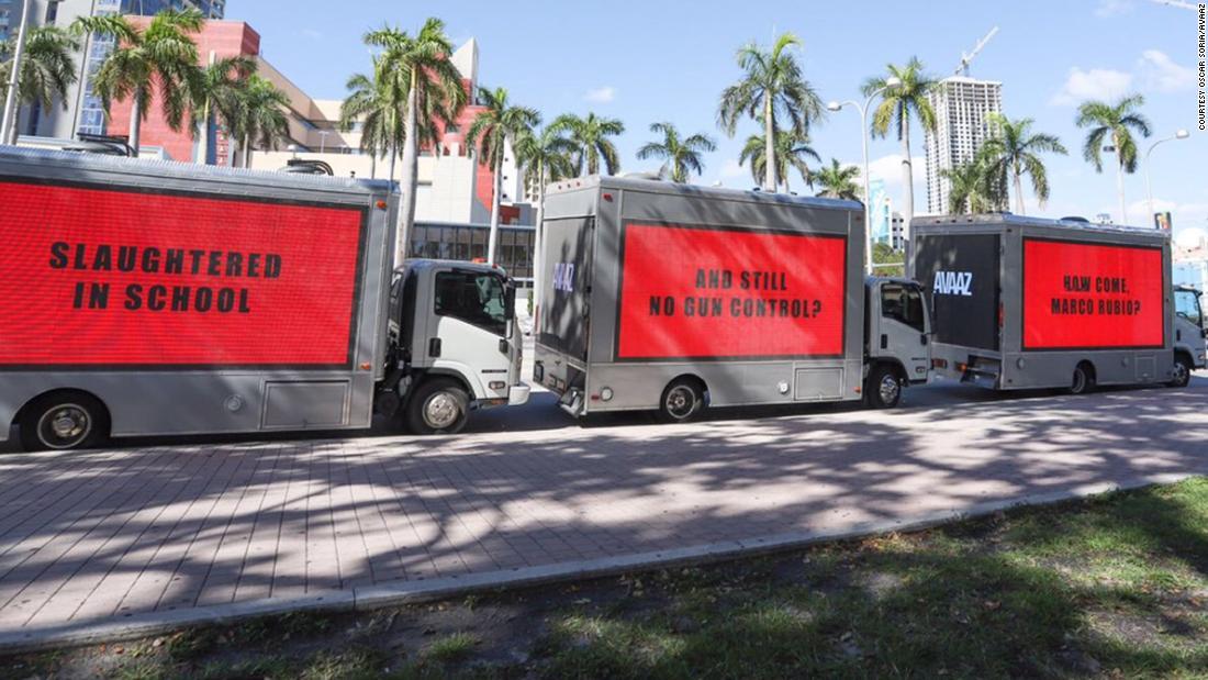 3 billboards near Miami are trolling Sen. Marco Rubio after the Florida school massacre