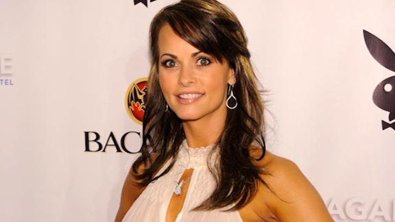 MIAMI BEACH, FL - FEBRUARY 06: Karen McDougal attends Playboy