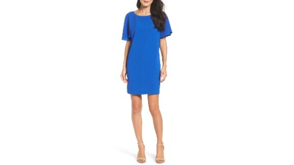 Women's Clothing   Talia Ruffle Back Shift Dress ($58.80, originally $98; nordstrom.com)