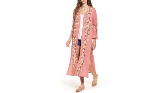 Love, Fire Placed Floral Kimono ($29.40, originally $49; nordstrom.com)