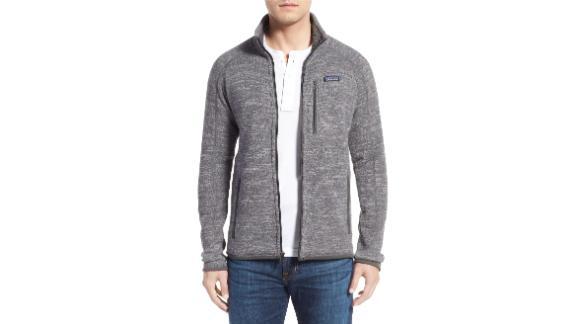 Men's Clothing   Patagonia Better Sweater Zip Front Jacket ($104.25, originally $139; nordstrom.com)