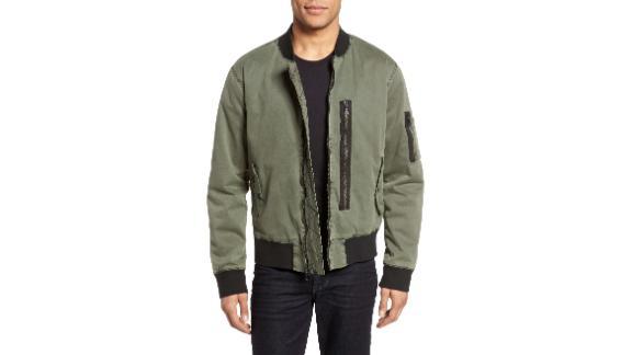 Hudson Jeans Knox Twill Bomber Jacket ($194.98, originally $325; nordstrom.com)