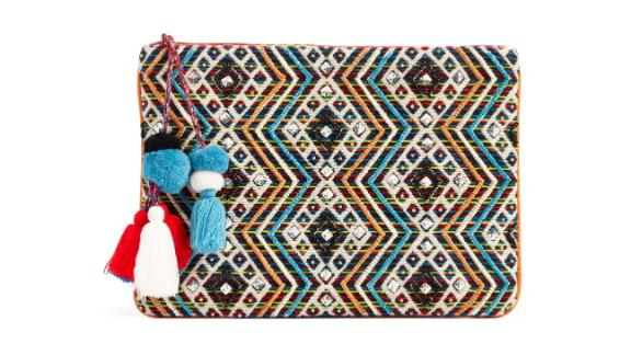 Steve Madden Resort Embellished Clutch ($44.98, originally $75; nordstrom.com)