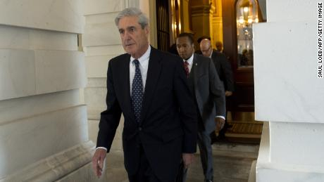 Former FBI Director Robert Mueller, special counsel on the Russian investigation, leaves following a meeting with members of the U.S. Senate Judiciary Committee at the U.S. Capitol in Washington, DC on June 21, 2017.