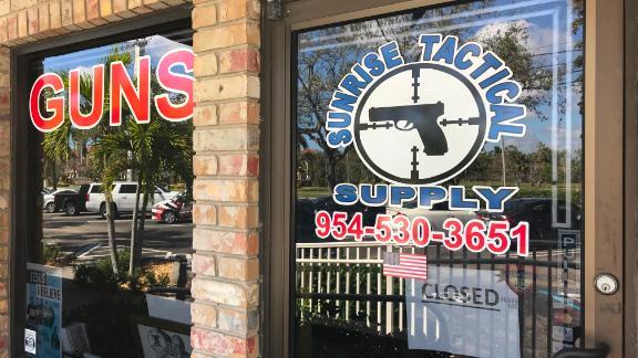 Sunrise Tactical, the gun store in Coral Springs, Florida, that sold a gun to Nikolas Cruz.