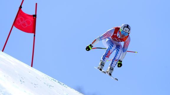 Vonn won super-G Olympic bronze in 2010
