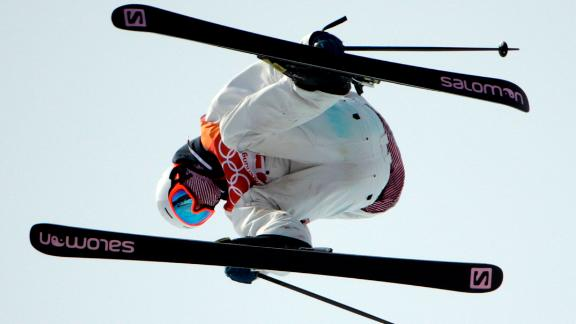 Antoine Adelisse of France competes in the men