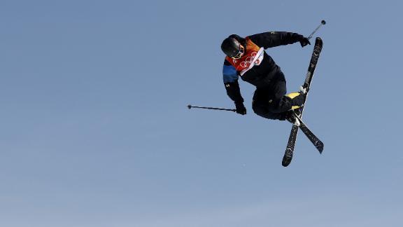 Oscar Wester of Sweden competes during the men