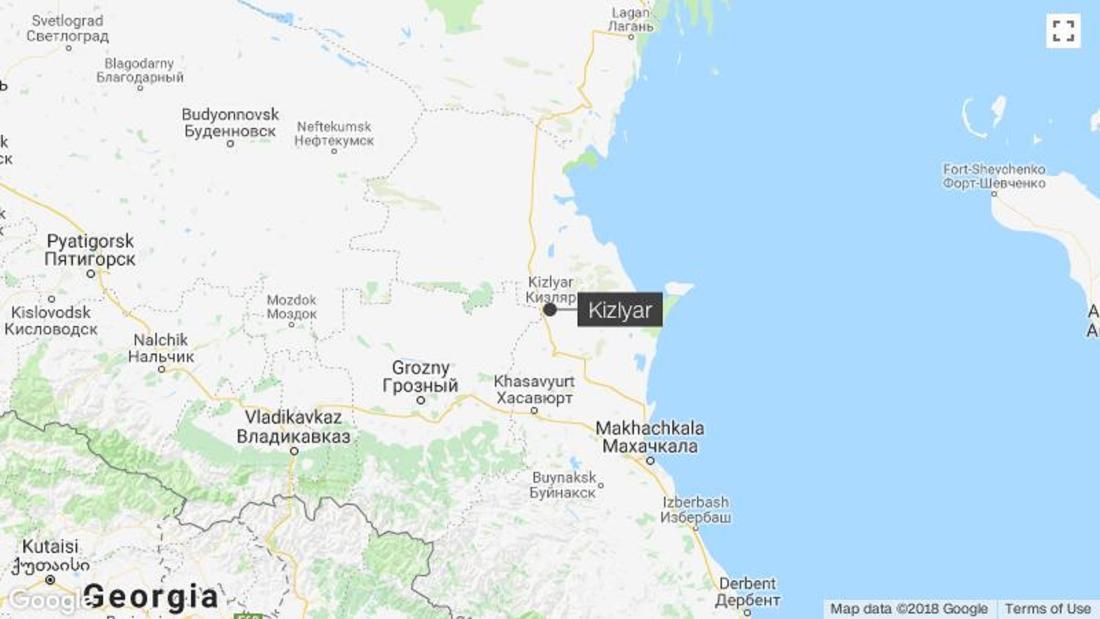 Church shooting in Dagestan leaves four dead