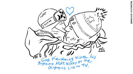 Gus Kenworthy on the Olympics and that TV kiss