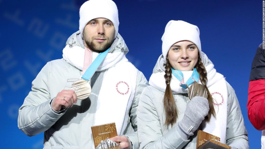 Following Russia's doping scandal, the country was banned from the Winter Olympics, with 169 of their athletes allowed to compete as neutrals. But, in a shocking turn of events, two of Team OAR's curlers -- husband and wife -- were stripped of their bronze medals after one of them, Aleksandr Krushelnitckii, tested positive for the banned substance meldonium.