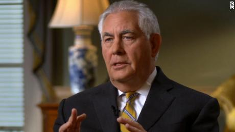 Tillerson: Trump tweets don't change policy