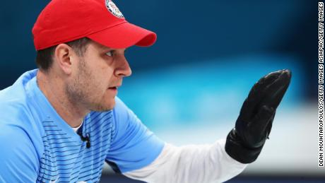 Four years after he was dropped from the US high-performance program, US skipper John Shuster led his team to the first curling gold medal in US history.