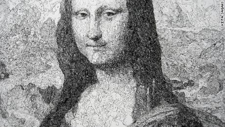 About two-thirds of people studied smile like the Mona Lisa.