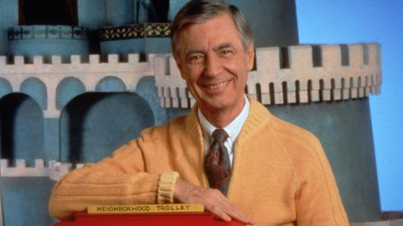"""The first national broadcast of """"Mister Rogers"""