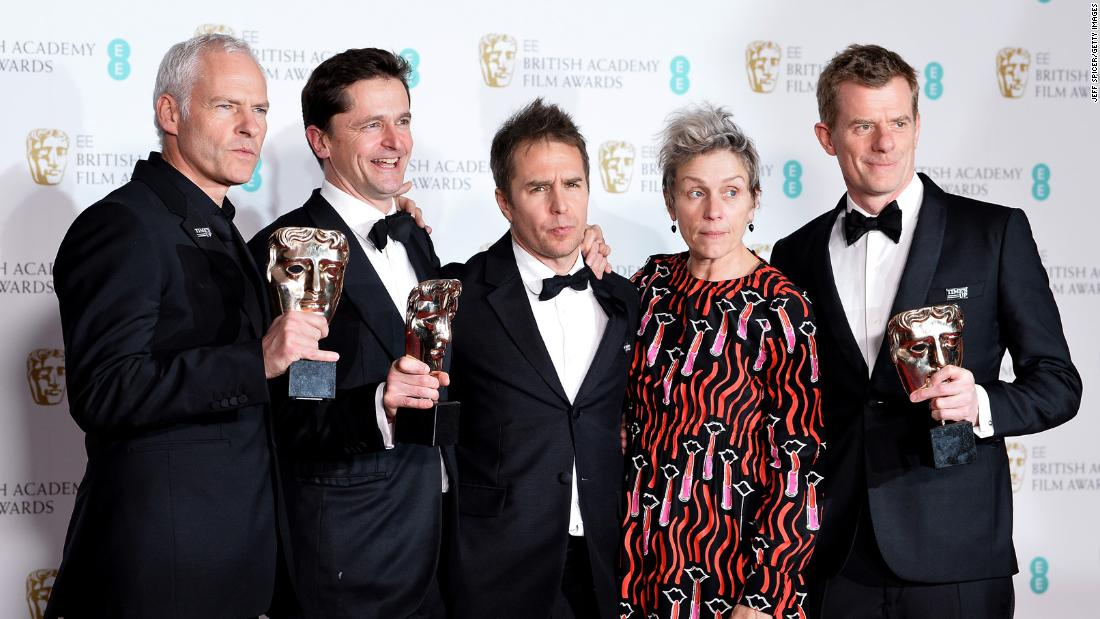 Baftas: Photos: BAFTA Awards 2018