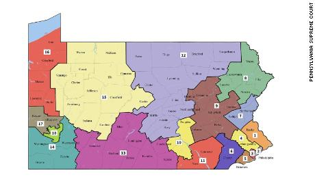 Court releases new Pennsylvania congressional maps, could help Democrats
