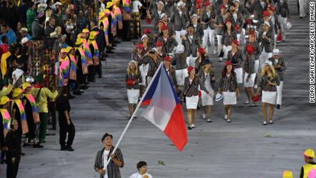"Carrying the Czech flag at the opening ceremony was both a ""huge honor"" and a ""huge commitment,"" according to Krpalek.  ""Everyone here in Czechia was interested in how I'd fight and what I'd show."""