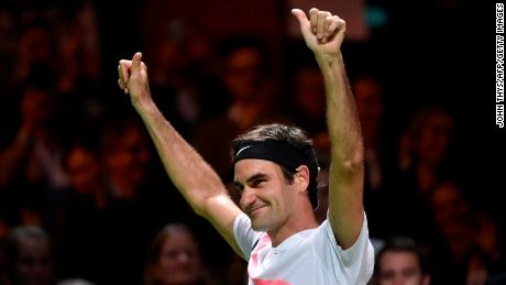 Switzerland's Roger Federer has become the oldest person to become world No. 1.