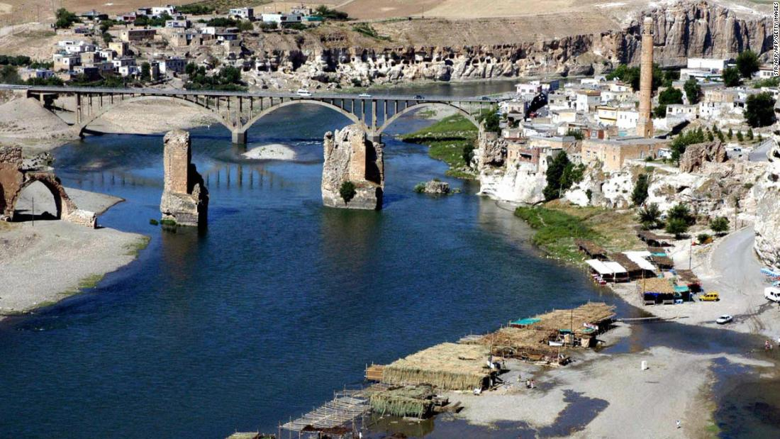 Other monuments from the ancient city on the banks of the Tigris will also be moved according to CNN Turk, including tombs, mosques and minarets. Hasankeyf has a 12,000-year history and contains many neolithic caves.