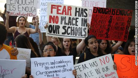 They survived a school shooting. Now, activism feels more urgent than classes